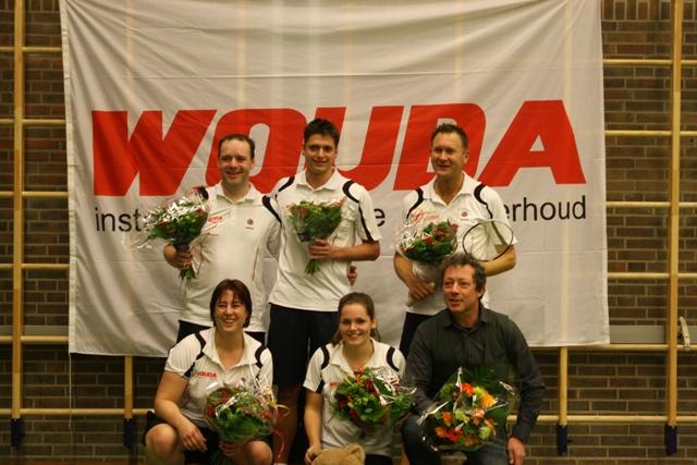 BAS Badminton sportploeg van het jaar