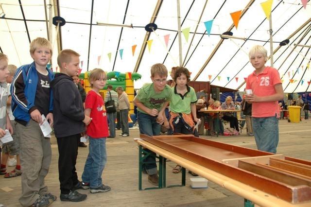 Super kindermiddag in tent