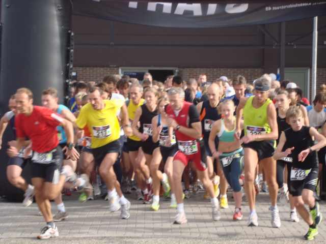 2e FlevOnice-run op zondag 4 oktober