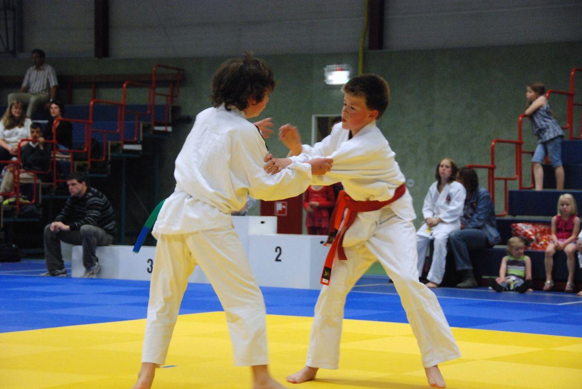 Judo actief in Markelo