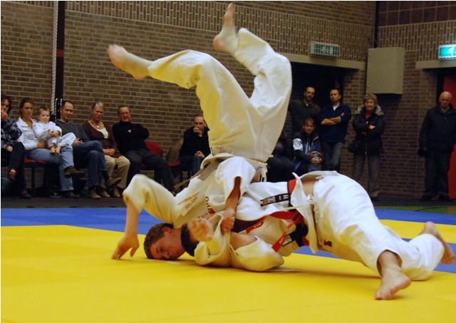 Clubkampioenschappen bij BAS judo