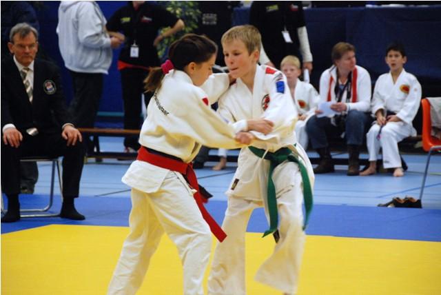 BAS-judo op het eerste BPO toernooi