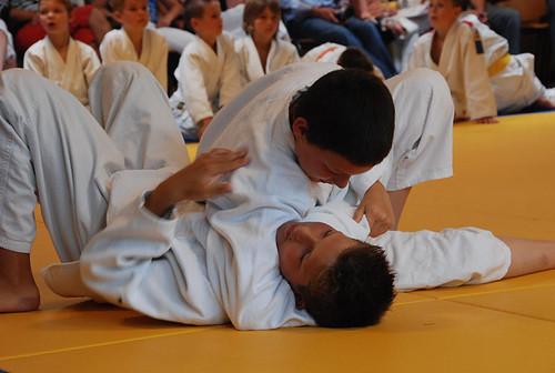 Warm tijdens judotoernooi Hardenberg