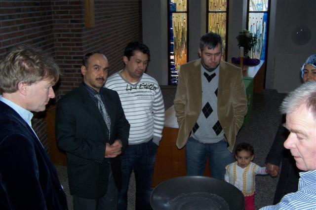 Nieuwe imam bezoekt kerk Biddinghuizen