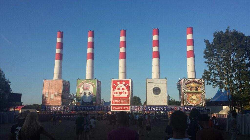 Minifestival in Lelystad tijdens Lowlands